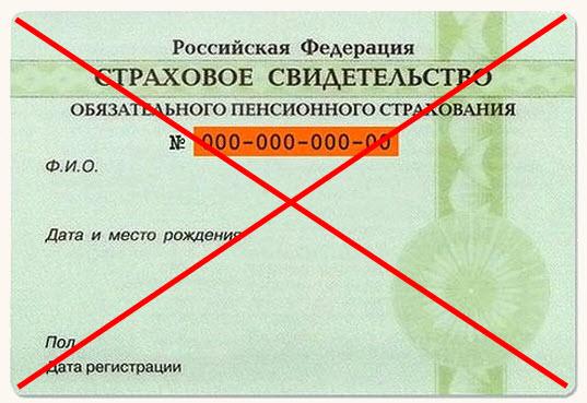 Отмена снилс в России